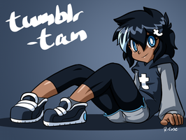 Tumblr tan by rongs1234