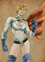 Power Girl 2009 by dichiara