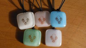 Cat skull -pendants by Akitainu96