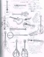 Guitars and things by grenouille-rousse