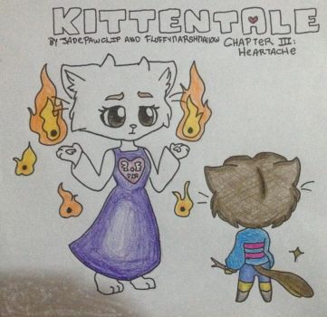 KittenTale Chapter III: Heartache -Preview Image- by FluffyMarshmallow