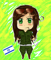APH Chibi Israel by Lunadescence