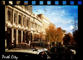 Streets of Perth City by xSilverRose