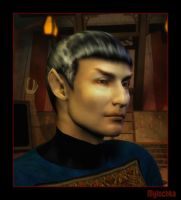 Protrait of Sarek by mylochka