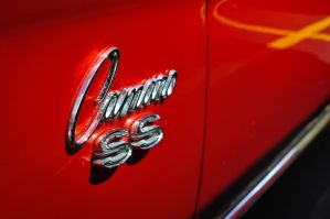 Camaro SS Badge Wallpaper by theCrow65