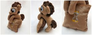 Dr. Whooves Companion Pony Plush - Now with Pillow by navkaze