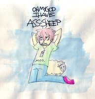 I HAVE ASS-SHEEP by hugfiend