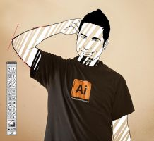 Ai CS5 Shirt by Santi90