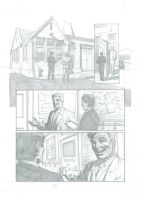 The Inspection (pencils) Page 1 by TomRFoster