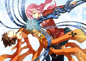 Guilty Crown Role Reversal by gem2niki