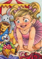 042 - Playroom ACEO by Honeyeater