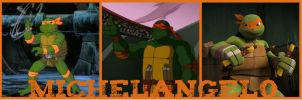 TMNT:: Mikey: '87 - '03 - '12 by Culinary-Alchemist