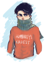 humanity's... coldest? by jakuzure