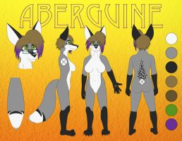 Aberguine Reference Sheet by Aberguine