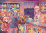 Visit to the Store by Geminid