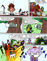 Sonic Survivor Island - Pg.24: You Still Here? by SDCharm