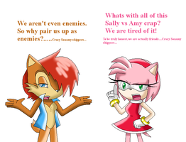 Hate Sally Vs Amy by Sakura123Cha