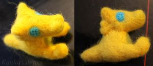 Felted Lemonsnout by katdarkshines