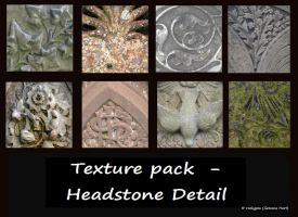 Texture Pack - Headstone Detail by rockgem