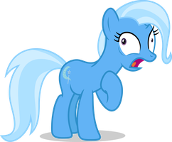 Mlp Fim trixie (cough) vector by luckreza8