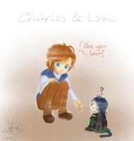 Charles and Loki by Yuuram93