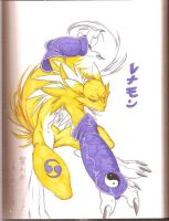 Renamon by EnvySkort