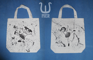 Azumanga Daioh Tote Bag 1 - Chiyo and Osaka by towelgirl21