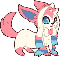 Sylveon by DemonicShadow91