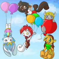 Baloons by Quarbie