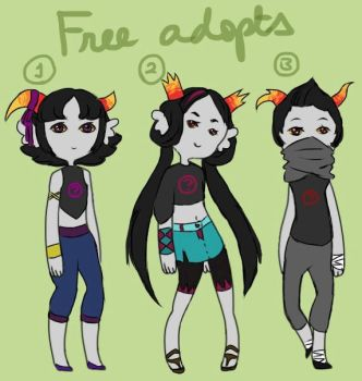 Free Fantroll Adopts Batch #2 [CLOSED] by HidingFreely