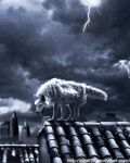 wolf in the dark city by pratt29