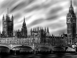 Big Ben Sketch by Cifercrossing