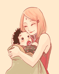 Sasusaku Family 04 by Fey-Rayen