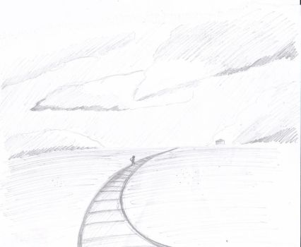 The lonely road rough draft by Mangamaiden123