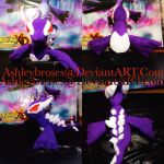 Shadow Lugia plush {W.I.P} by ashleybroses