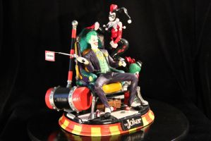 Joker and Harley diorama by Joker-laugh