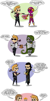 Coulson's Birthday by flatbear
