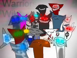 Warriors Wiki Group Picture by FabulousMaggot