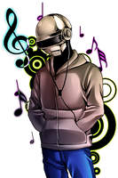 Thomas Bangalter by uromang