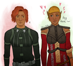 The Wee Lasses by MidnightElysium