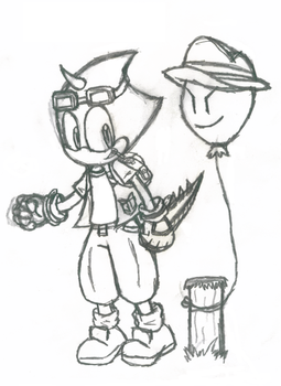 Kenny and Benny by undermate2005