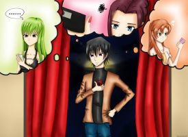 Code Geass : Whom am I going out with tonight ? by JHikaru