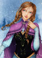 Anna Frozen by maxicarry