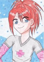 Astrid - Red Haired Girl by Lenita07