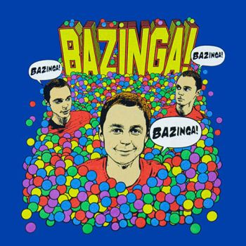 Bazinga By Sheldon Cooper by Cookietotheminimum