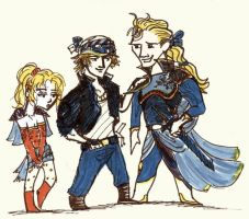 FFVI characters, part 2 by Tveir