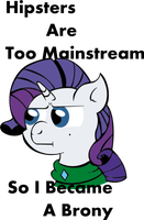 Hipster Rarity by lordcurly972