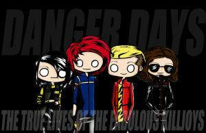 MCR Killjoys Colour by shinigamixandie