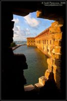 Fort Jefferson Morning by juddpatterson