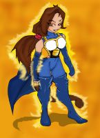 Suki..in fromal saiyan uniform by SukiMitchell